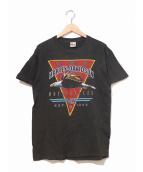 ()の古着「[古着]80'sハーレーTシャツ」|ブラック