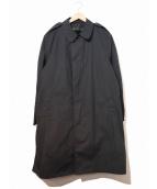 ()の古着「[古着]90sライナー付ミリタリーステンカラーコート」|ブラック