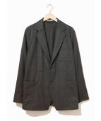 ()の古着「ウールフランネルジャケット」|ブラック