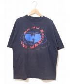 ラップTシャツ(ラップTシャツ)の古着「[古着]HIP-HOP TEE」|ネイビー