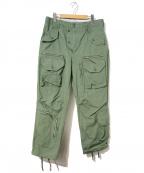 Engineered Garments×BEAMS PLUS()の古着「リップストップコットンフライトパンツ」 カーキ