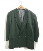 GIANNI VERSACE()の古着「[OLD]ダブルブレストジャケット」|オリーブ