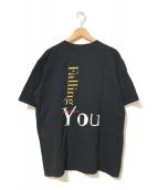 caline dion(セリーヌ・ディオン)の古着「[古着]アーティストTシャツ」|ブラック