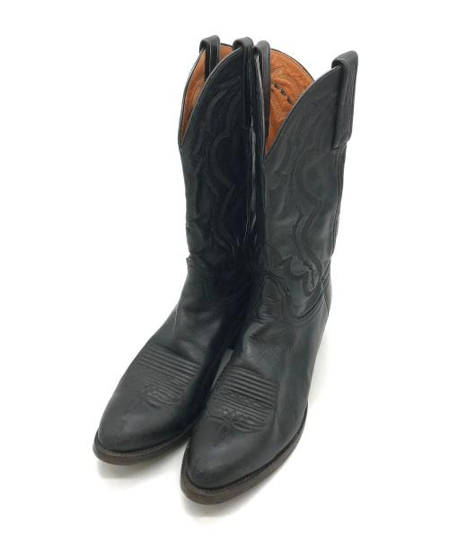LUCCHESE(ルケーシー)LUCCHESE (ルケーシー) [古着]ウェスタンブーツ ブラック サイズ:9Bの古着・服飾アイテム