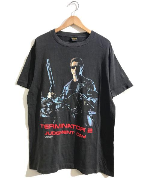 TERMINATOR 2(ターミネーター2)TERMINATOR 2 (ターミネーター2) [古着]ヴィンテージシネマTシャツ ブラック サイズ:L USA製・JUDGMENT DAYの古着・服飾アイテム