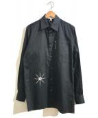 ()の古着「プリントシャツ」|ブラック