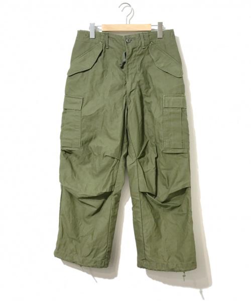VINTAGE MILITARY(ヴィンテージ ミリタリー)VINTAGE MILITARY (ヴィンテージ ミリタリー) [古着]M-65フィールドパンツ カーキ サイズ:SMALL-SHORT 70's・76年の古着・服飾アイテム