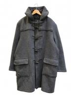 GLOVER ALL(グローバーオール)の古着「[古着]80'sビッグサイズダッフルコート」|グレー