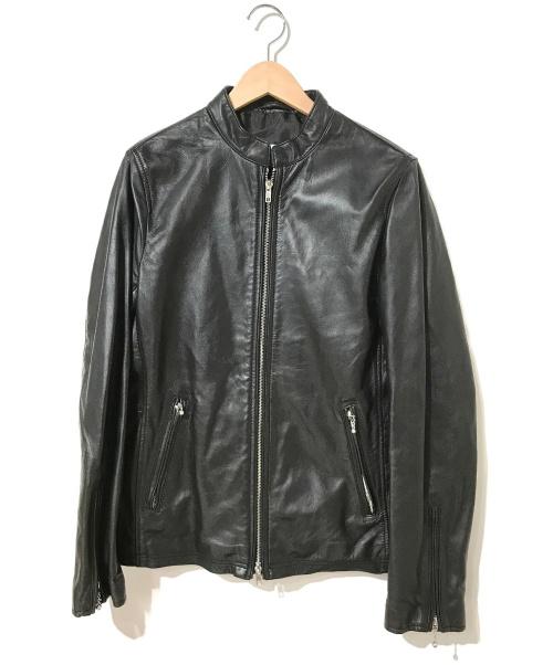 LHP(エルエイチピー)LHP (エルエイチピー) シングルライダースジャケット ブラック サイズ:M ブランド公式WEB限定モデルの古着・服飾アイテム