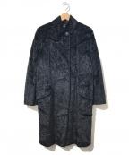 GIANNI VERSACE(ジャンニヴェルサーチ)の古着「[OLD]ヴィンテージフェイクファーコート」|ブラック