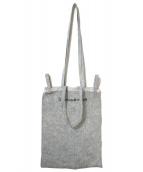 MM6 Maison Margiela(エムエムシックス メゾンマルジェラ)の古着「シックスハンドルトートバッグ」|グレー