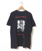 ラップTシャツ(ラップTシャツ)の古着「[古着]2-PAC 90's HIP-HOP Tシャツ」|ブラック