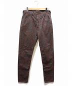 BRU NA BOINNE(ブルーナボイン)の古着「ムルジムパンツ」|パープル