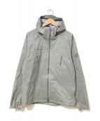 MAMMUT(マムート)の古着「マサオライトハードシェルフーデッドジャケット」|グレー