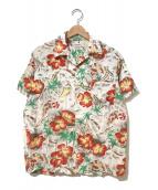 VINTAGE(ヴィンテージ/ビンテージ)の古着「[古着]ヴィンテージアロハシャツ / ハワイアンシャツ」|ベージュ