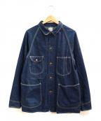 orSlow()の古着「1950デニムカバオール」 インディゴ