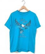 HARLEY-DAVIDSON(ハーレーダビットソン)の古着「[古着]ハーレーTシャツ」|ブルー