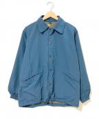 BROWN by 2-tacs(ブラウンバイツータックス)の古着「コーチジャケット」 ブルー