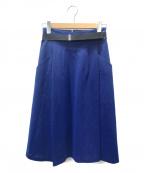 TOGA(トーガ)の古着「ベルテッドスカート」|ブルー
