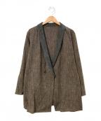 THE Sakaki(ザ サカキ)の古着「羽織ジャケット」|ブラウン