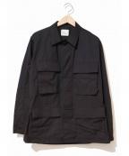 VINTAGE MILITARY(ヴィンテージ ミリタリー)の古着「[古着]90'sBDUジャケット」 ブラック