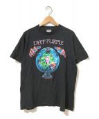 ()の古着「[古着]deep purple 90'sバンドTシャツ」|ブラック