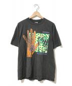 ()の古着「[古着]Genesis 80'sバンドTシャツ」|ブラック