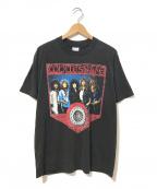 バンドTシャツ(バンドTシャツ)の古着「[古着]WHITESNAKE 80sバンドTシャツ」 ブラック