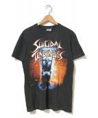 ()の古着「[古着]SUICIDALTENDENCIESバンドTシャツ」|ブラック