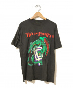 バンドTシャツ(バンドTシャツ)の古着「[古着]DEEP PURPLE バンドTシャツ」 ブラック