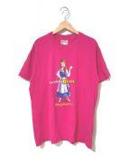 ()の古着「[古着]プリントTシャツ」|ピンク