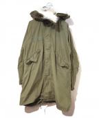 VINTAGE MILITARY(ヴィンテージ ミリタリー)の古着「[古着]70'sM-65ミリタリーモッズコート」 カーキ
