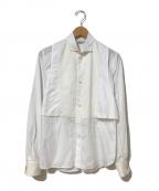 FUMIKA UCHIDA(フミカウチダ)の古着「ウィングカラーカフスシャツ」|ホワイト
