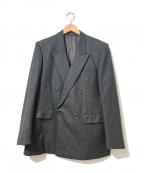 Christian Dior MONSIEUR(クリスチャンディオールムッシュ)の古着「[OLD]ダブルブレストウールジャケット」|グレー