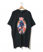 バンドTシャツ(バンドTシャツ)の古着「[古着]black crowes 90's バンドTシャツ」 ブラック