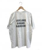 バンドTシャツ(バンドTシャツ)の古着「[古着]POWER HOUSE 90'sバンドTシャツ」 グレー