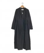 Khadi and Co(カディアンドコー)の古着「3WAYドレスワンピース」|ブラック
