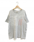 VINTAGE(ヴィンテージ)の古着「[古着]プリントTシャツ」|グレー