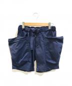 Comfy Outdoor Garment(コンフィーアウトドアガーメンツ)の古着「ACTTVITY SHORTS / アクティビティショーツ」|ネイビー