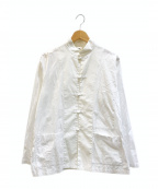 GROUND Y(グラウンドワイ)の古着「ブロードチャイナシャツ」 ホワイト