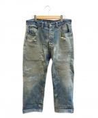 LEVI'S(リーバイス)の古着「[古着]ヴィンテージデニムパンツ」|インディゴ
