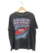 バンドTシャツ(バンドTシャツ)の古着「[古着]AC/DC 90'sバンドTシャツ」 ブラック
