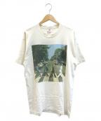 バンドTシャツ(バンドTシャツ)の古着「[古着]THE BEATLES 90'sバンドTシャツ」 ホワイト