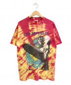 バンドTシャツ(バンドTシャツ)の古着「[古着]LED ZEPPELIN 90'sバンドTシャツ」 タイダイ