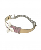 Christian Dior(クリスチャン ディオール)の古着「[OLD]ブレスレット」 ホワイト×ピンク