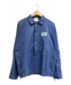 ()の古着「[古着]80'sプリントジャケット」|ネイビー