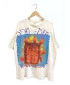 バンドTシャツ(バンドTシャツ)の古着「[古着]pearl jam 90'sバンドTシャツ」 ホワイト