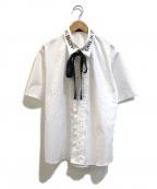 MILK BOY(ミルクボーイ)の古着「ロゴタイドシャツ」 ホワイト