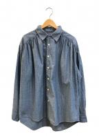 AiE(エーアイイー)の古着「ペインターシャツ/Painter Shirt」 インディゴ