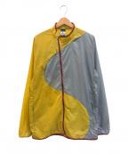 GYAKUSOU(ギャクソウ)の古着「ライトウェイトジャケット」 イエロー×グレー